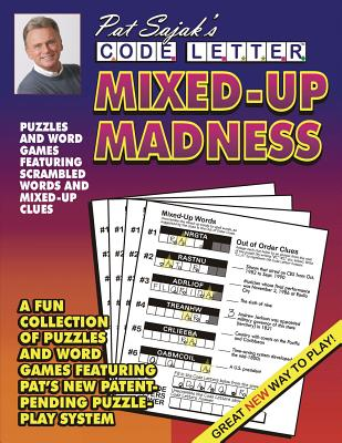 Pat Sajak's Code Letter Mixed-Up Madness, Sajak, Pat