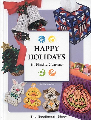 Image for Happy Holidays in Plastic Canvas