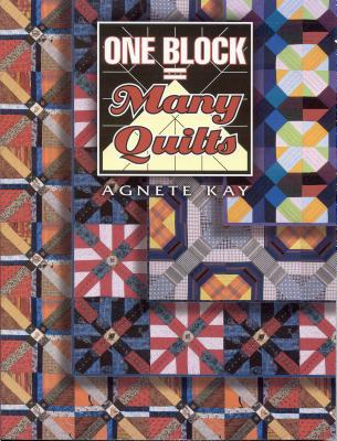 One Block Many Quilts, Kay, Agnete