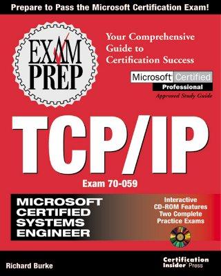 Image for MCSE TCP/IP Exam Prep (Exam: 70-059)