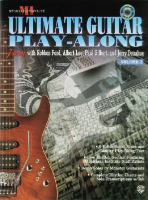 Image for ULTIMATE GUITAR PLAY-ALONG VOLUME 2