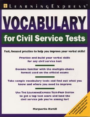 Image for Vocabulary For Civil Service Tests