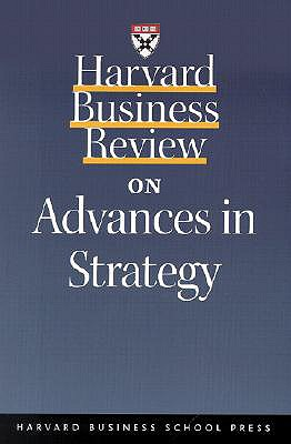 Image for Harvard Business Review on Advances in Strategy