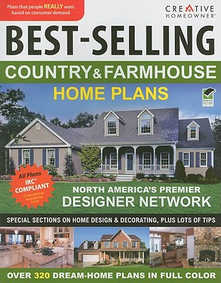 Image for Best-Selling Country & Farmhouse Home Plans (CH) (English and English Edition)