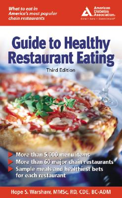 Image for American Diabetes Association Guide to Healthy Restaurant Eating(3rd Edition)