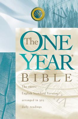 Image for One Year Bible-Esv