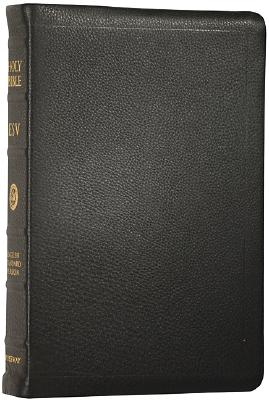 Image for ESV Classic Reference Bible, Premium Calfskin Leather, Black, Black Letter Text