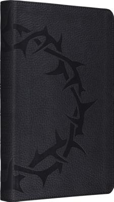 Image for ESV Thinline Bible (TruTone, Charcoal, Crown Design)