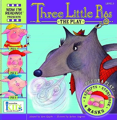 Image for NIR! Plays: Three Little Pigs - Level 1 (Now I'm Reading! Plays: Level 1)