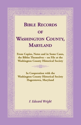 Image for Bible Records of Washington County, Maryland