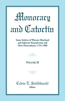 Image for Monocacy and Catoctin, Volume 2