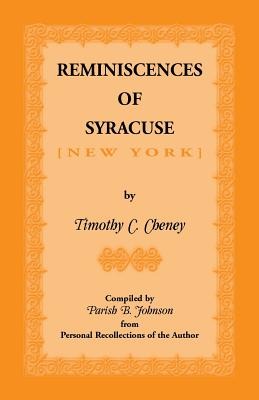 Image for Reminiscences of Syracuse [New York]