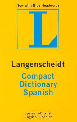 Image for Langenscheidt Compact Spanish Dictionary (Langenscheidt Compact Dictionaries) (Spanish Edition)