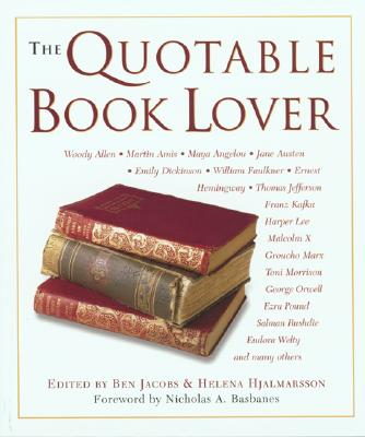 Image for QUOTABLE BOOK LOVER