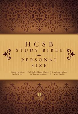 Image for HCSB Study Bible Paperback Personal Size