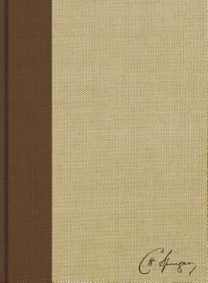 "Image for ""CSB Spurgeon Study Bible, BrownTan Cloth Over Board"""
