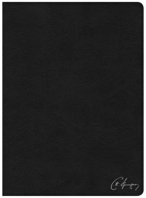CSB Spurgeon Study Bible, Black Genuine Leather, Indexed, CSB Bibles by Holman; Begg, Alistair