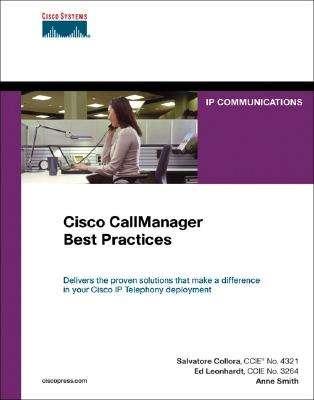 Image for Cisco CallManager Best Practices: A Cisco AVVID Solution