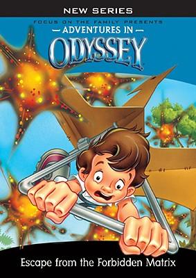 Vol 15 Escape from the Forbidden Matrix DVD Adventures in Odyssey, AIO Team