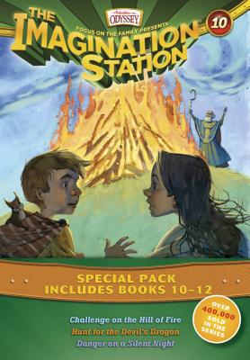 Image for Vols 10-12 Imagination Station Books: Challenge on the Hill of Fire / Hunt for the Devil's Dragon / Danger on a Silent Night (AIO Imagination Station Books)