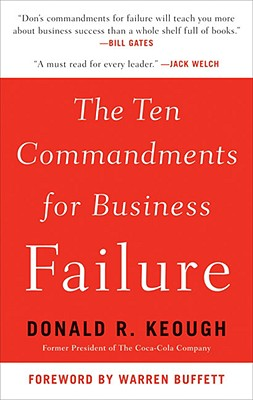 Image for The Ten Commandments for Business Failure