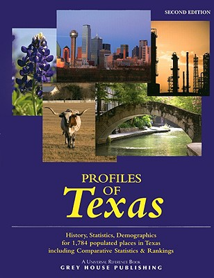 Profiles of Texas (Universal Reference Books) (Paperback) Second Edition, Laura Mars-Proietti