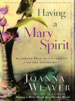 Image for Having a Mary Spirit: Allowing God to Change Us from the Inside Out (Walker Large Print Books)