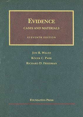 Image for EVIDENCE: CASES AND MATERIALS ELEVENTH EDITION