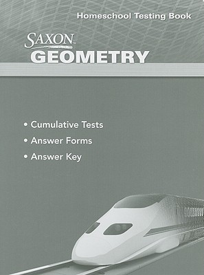 Image for Saxon Geometry: Homeschool Testing Book