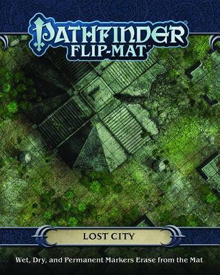 Pathfinder Flip-Mat: Lost City, Engle, Jason A.; Radney-MacFarland, Stephen