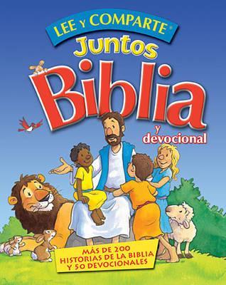 Lee y comparte juntos Biblia y Devocional: Mas de 200 historias biblicas y 50 devocionales (Spanish Edition), Gwen Ellis (Author)