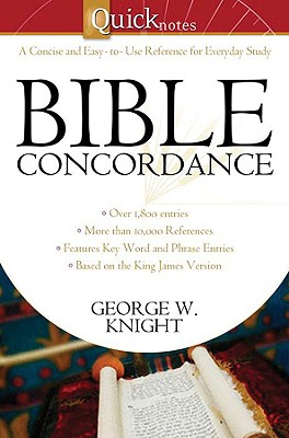Image for Quicknotes Bible Concordance (QuickNotes Commentaries)