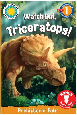 Image for WATCH OUT, TRICERATOPS!