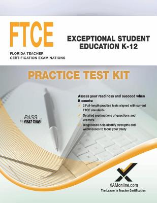 Image for FTCE Exceptional Student Education K-12 Practice Test Kit