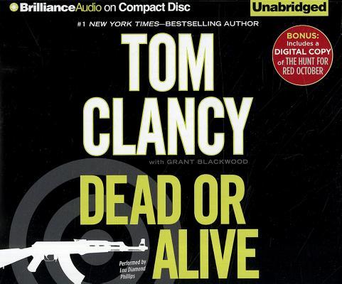 Image for Dead or Alive (Plus Bonus Digital Copy of The Hunt for Red October) (Jack Ryan Series)