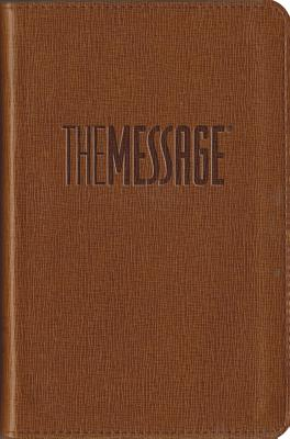 Image for The Message Compact (Leather-Look, Tan): The Bible in Contemporary Language