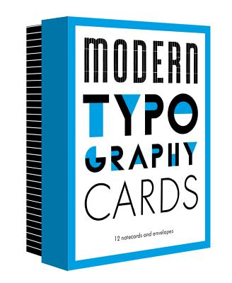 Modern Typography Notecards, Princeton Architectural Press