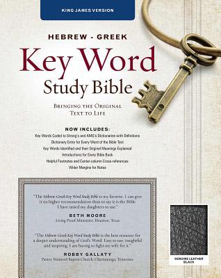 Image for The Hebrew-Greek Key Word Study Bible KJV Gen Leath Ind