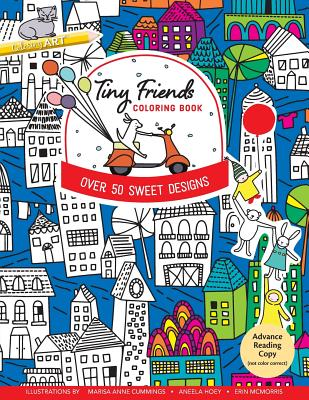 Image for Tiny Friends Coloring Book: Over 50 Sweet Designs