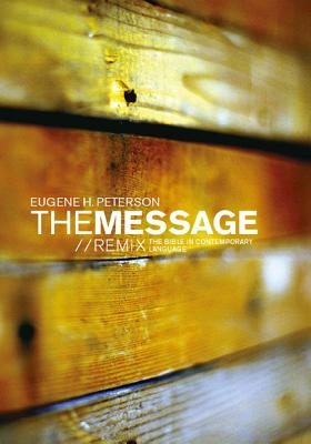 Image for The MessageREMIX Paperback Wood: The Bible in Contemporary Language
