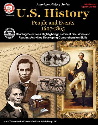 Image for Carson-Dellosa U.S. History Resource Book, Grades 6-12