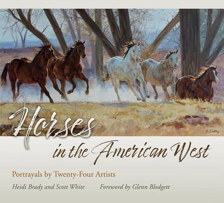Image for Horses in the American West: Portrayals by Twenty-Four Artists (American Wests)