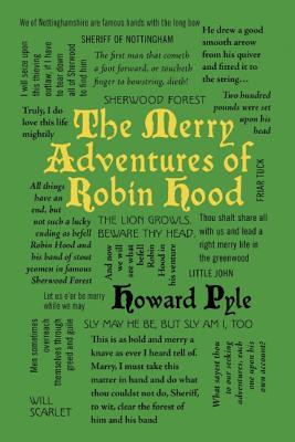 The Merry Adventures of Robin Hood (Word Cloud Classics), Howard Pyle