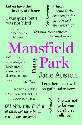 Mansfield Park (Word Cloud Classics), Jane Austen
