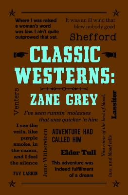 Image for Classic Westerns: Zane Grey (Word Cloud Classics)