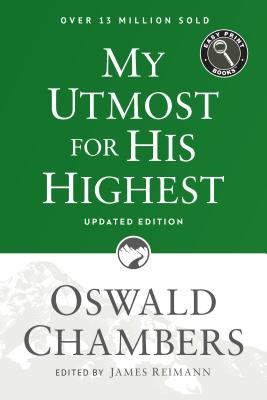 Image for My Utmost for His Highest: Updated Language Easy Print Edition