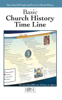 Image for Basic Church History Time Line Pamphlet