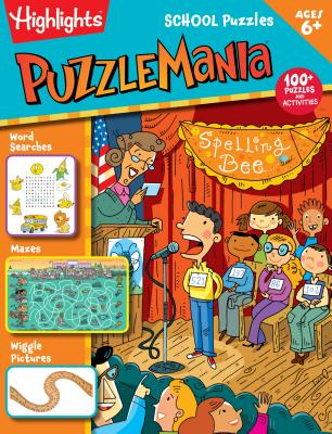 Image for School Puzzles (Highlights Puzzlemania Activity Books)