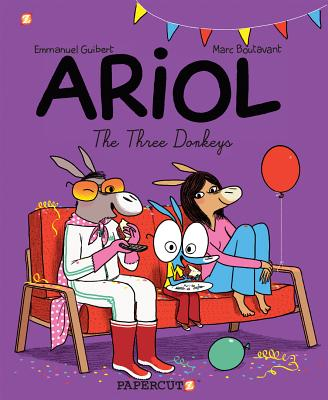 Ariol #8: The Three Donkeys (Ariol Graphic Novels), Guibert, Emmanuel