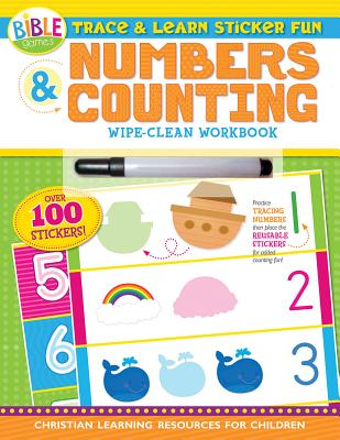 Image for Trace and Learn Sticker Fun: Numbers and Counting
